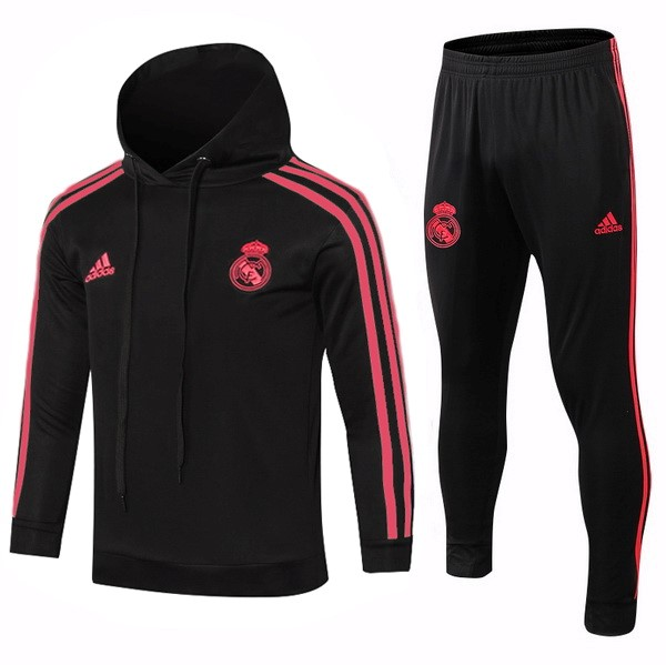 Survetement Foot Enfant Real Madrid 2018 2019 Rouge Noir