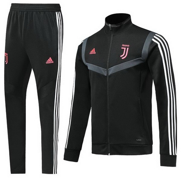 Survetement Foot Juventus 2019 2020 Rose Noir