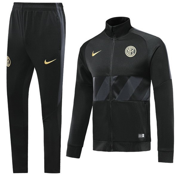 Survetement Foot Inter Milan 2019 2020 Noir