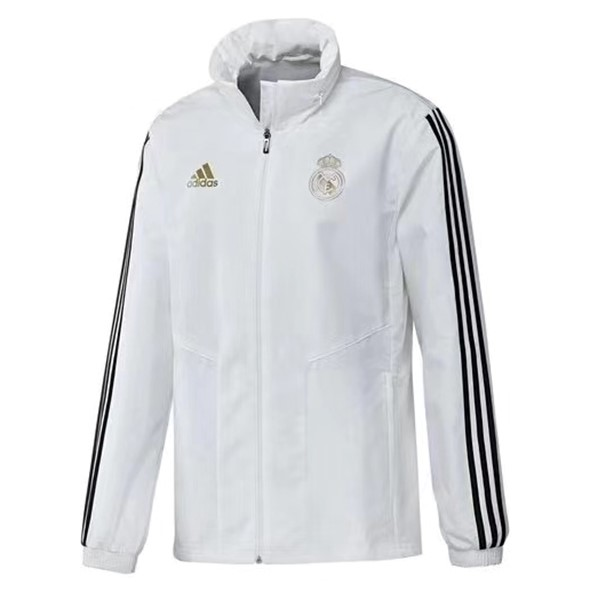 Coupe Vent Real Madrid 2019 2020 Blanc Noir