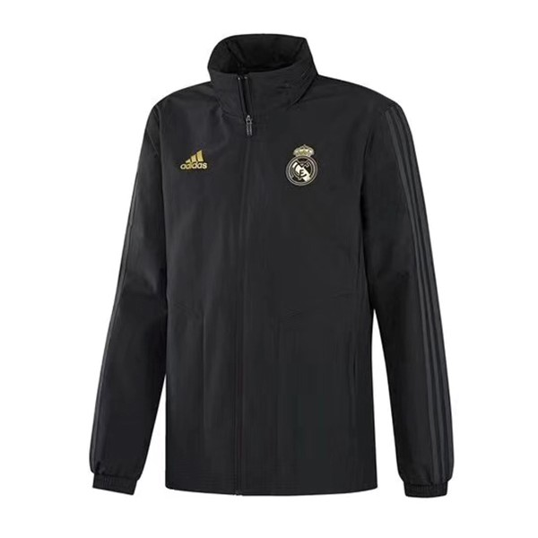 Coupe Vent Real Madrid 2019 2020 Noir Jaune