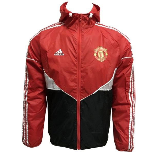 Sweat Shirt Capuche Manchester United 2017 2018 Rouge Noir Blanc