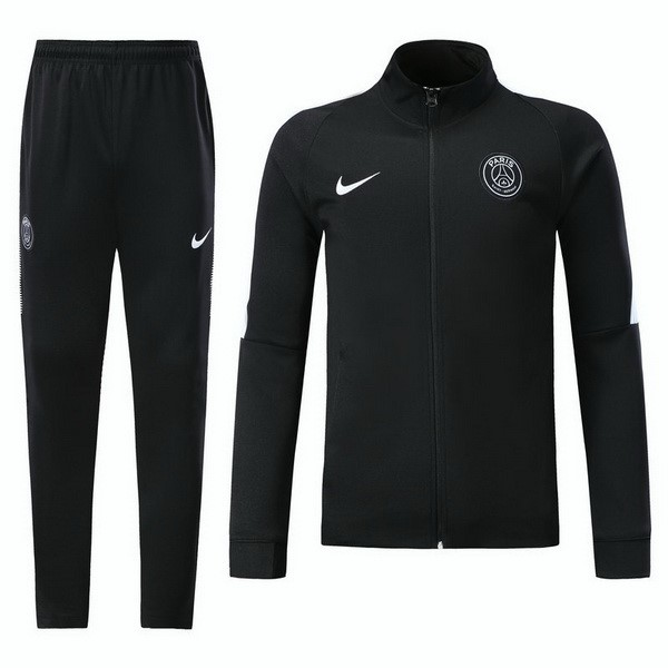 Survetement Foot Paris Saint Germain Niño 2017 2018 Noir
